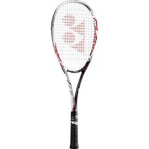 YONEX FLR7V 001 SL2 ヨネックス ソフトテニス ラケット(レッド・サイズ:SL2・ガット未張り上げ) YONEX エフレーザー7V