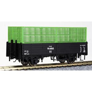 [鉄道模型]ワールド工芸 (HO) 16番 国鉄 トラ90000形 無蓋車 タイプB(4段カゴ) 組立キット