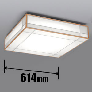 LEC-CH801CJ 日立 LED和風シーリングライト【カチット式】 HITACHI 高級和風木枠シリーズ