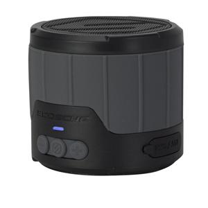 BTBTLMGY スコーシュ Bluetooth対応防水スピーカー(グレー) SCOSCHE BoomBottle Mini