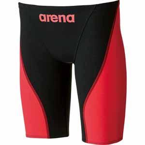 DS-ARN7011M-BKRD-S アリーナ メンズ用水着(競泳用)(ブラック×レッド・Sサイズ) arena 【Fina承認】 ハーフスパッツ アクアフォース フュージョン2