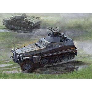 1/35 WW.II ドイツ軍 Sd.Kfz.250/4 Ausf.A 対空自走砲【DR6878】 ドラゴンモデル