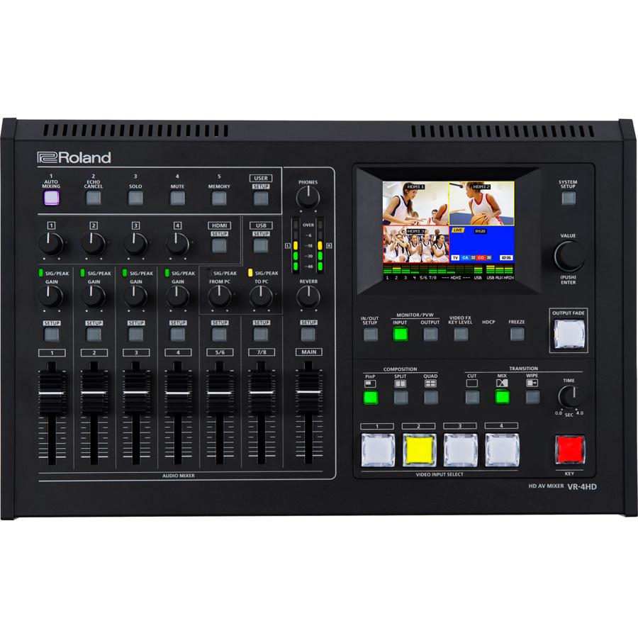 VR-4HD ローランド HDMI対応AVミキサー Roland AV Mixer