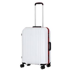 ESC1046-57カ-ボンホワイト シフレ スーツケース ハードフレーム 56L(カーボンホワイト) ESCAPE'S