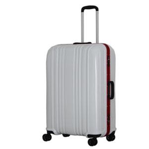 ESC1046-68カ-ボンホワイト シフレ スーツケース ハードフレーム 88L(カーボンホワイト) ESCAPE'S