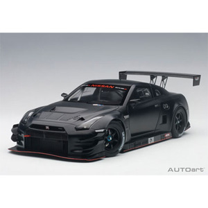 1/18 日産 GT-R NISMO GT3(マット・ブラック)【81580】 オートアート