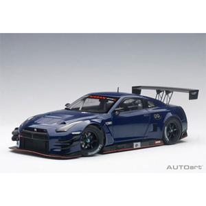 1/18 日産 GT-R NISMO GT3 (オーロラ フレア ブルー・パール)【81584】 オートアート
