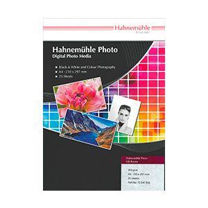 430615 ハーネミューレ インクジェット用紙 厚手 シルキーグロスホワイト A2 25枚 Hahnemuhle Photo Silk Baryta フォトシルクバライタ 310gsm