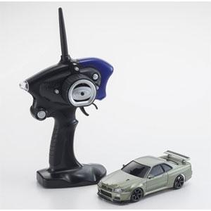 1/27 電動RCレディセット MA-020S スカイライン GT-R R34 ミレニアムジェイド【32140MJ】 京商
