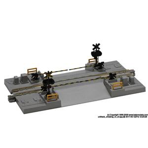 鉄道模型 カトー Nゲージ 高価値 超激得SALE 124mm 踏切線路#2 20-027
