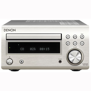 RCD-M41-SP デノン Bluetooth対応CDレシーバー(プレミアムシルバー) DENON