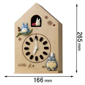 4MH899-M06 リズム時計 掛け時計 鳩時計 [トトロM89906]【返品種別A】