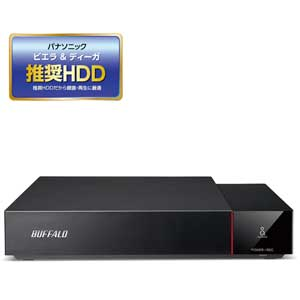 HDV-SQ2.0U3/VC バッファロー USB3.1(Gen1)/3.0対応 外付けハードディスク 2.0TBビエラ&DIGA(ディーガ)推奨ハードディスク(SeeQVault対応)