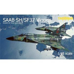 1/48 サーブ SH/SF37 ビゲン偵察機【TGSTA4807】 タラングス
