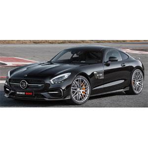 1/18 ブラバス 600 AUF BASIS メルセデス ベンツ AMG GT S 2015 ブラック【107032520】 ミニチャンプス