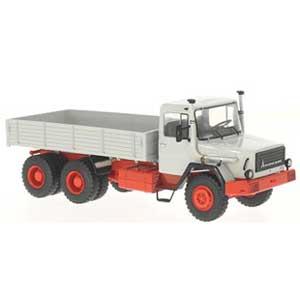 【再生産】1/43 Magirus 290 D トラック(グレー/レッド)【PCS47022】 Premium ClassiXXs