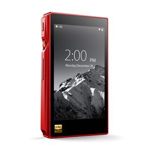 FIIO-X5 3RD GENERATION RED フィーオ ハイレゾ・デジタルオーディオプレーヤー(レッド)32GBメモリ内蔵+外部メモリ対応 FiiO X5 3rd generation