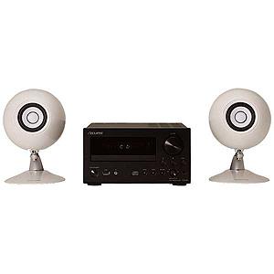 CDR1-307PACK-WH デンソーテン・富士通テン CDレシーバー+6.5cmスピーカー・システム(ホワイト) ECLIPSE