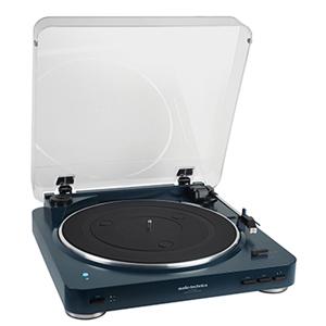 AT-PL300BT NV オーディオテクニカ ワイヤレス・アナログプレーヤー(ネイビー) audio-technica