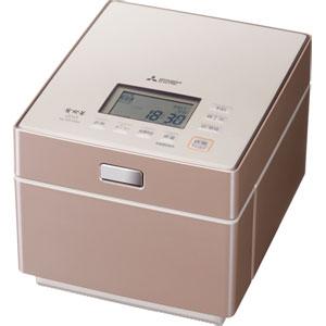 NJ-XS108J-P 三菱 IHジャー炊飯器(5.5合炊き) テンダーロゼ MITSUBISHI 蒸気レスIH