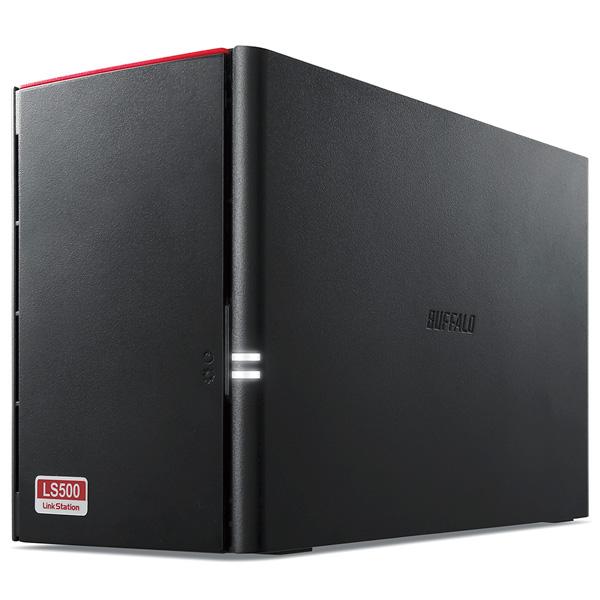 LS520DN0802B バッファロー ネットワーク対応ハードディスク 8.0TB(4.0TB×2) リンクステーション