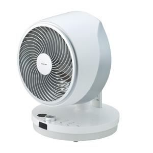 KCF-2371/W コイズミ 【扇風機】DCモーター搭載 サーキュレーター(リモコン付 ホワイト) KOIZUMI コードレスマルチファン