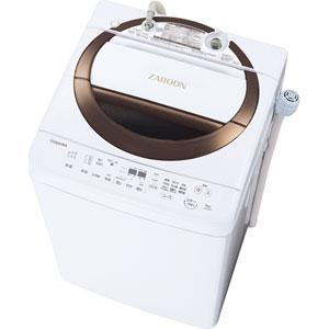 (標準設置料込)AW-6D6-T 東芝 6.0kg 全自動洗濯機 ブラウン TOSHIBA ZABOON