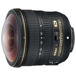 AFS8-15E ニコン AF-S Fisheye NIKKOR 8-15mm f/3.5-4.5E ED ※FXフォーマット用レンズ(36mm×24mm)
