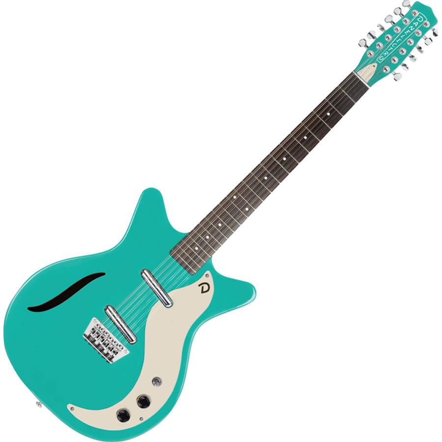 VINTAGE 12STRING DAQ ダンエレクトロ 12弦エレキギター(ダークアクア) Danelectro