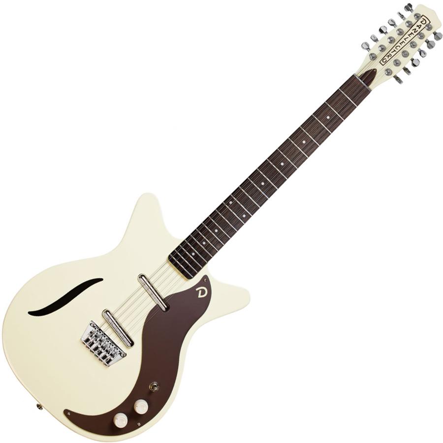 VINTAGE 12STRING VWH ダンエレクトロ 12弦エレキギター(ヴィンテージホワイト) Danelectro