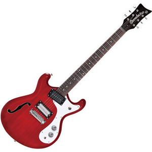 THE66 TRED ダンエレクトロ エレキギター(トランスペアレントレッド) Danelectro