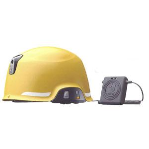 SAGA-D-B KMW ヘルメット型 防災用無線機(防水・防塵)イエロー SAGA D