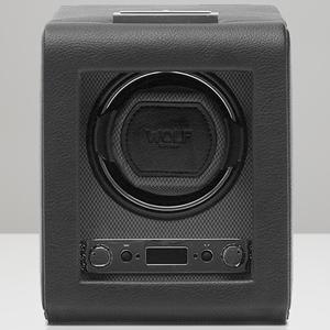 456002-VICEROY ウルフ ウォッチワインダー1本巻き ブラック WOLF [456002VICEROY]【返品種別B】