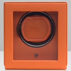 461139-CUB ウルフ ウォッチワインダー1本巻き オレンジ WOLF [461139CUB]【返品種別B】【送料無料】