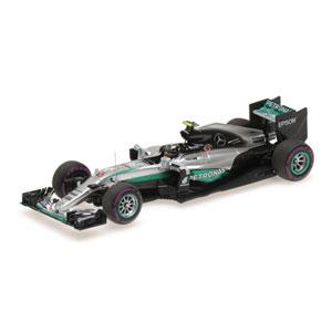 1/43 メルセデス AMG ペトロナス フォーミュラ1 チーム F1 W07 ハイブリッド ニコ・ロズベルグ モナコGP 2016【417160306】 ミニチャンプス
