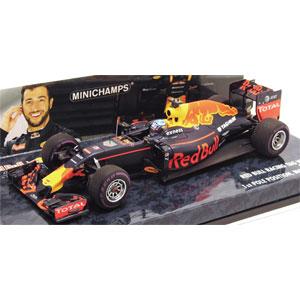 1/43 レッド ブル レーシング タグ ホイヤー RB12 ダニエル・リカルド モナコGP 2016 ポールポジション【417160103】 ミニチャンプス