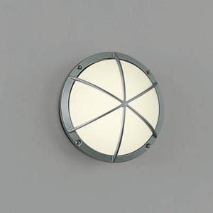 AU38606L コイズミ LEDポーチライト(シルバーメタリック)【要電気工事】 KOIZUMI
