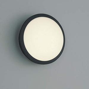 AU38609L コイズミ LEDポーチライト(黒色)【要電気工事】 KOIZUMI