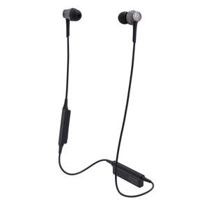 ATH-CKR55BT-BK オーディオテクニカ Ver.4.1 Bluetooth対応ワイヤレスヘッドセット(スティールブラック) audio-technica