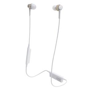 ATH-CKR55BT-CG オーディオテクニカ Ver.4.1 Bluetooth対応ワイヤレスヘッドセット(シャンパンゴールド) audio-technica