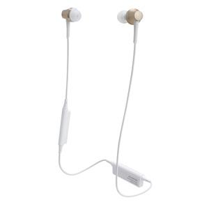 ATH-CKR75BT-CG オーディオテクニカ Ver.4.1 Bluetooth対応ワイヤレスヘッドセット(シャンパンゴールド) audio-technica