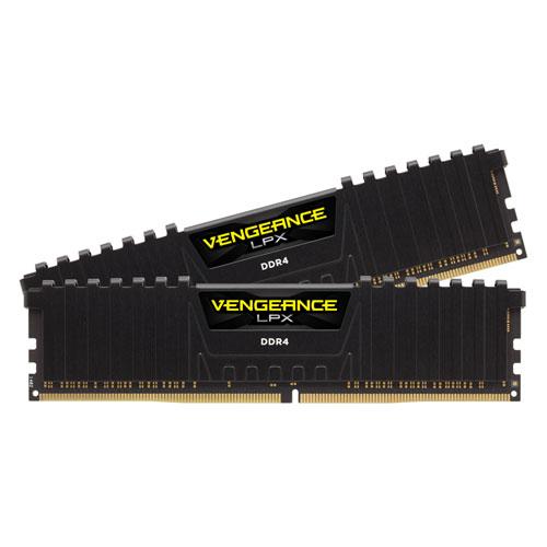 CMK32GX4M2A2666C16 コルセア PC4-21300 (DDR4-2666)288pin DDR4 DIMM 32GB(16GB×2枚) CORSAIR Vengeance LPX 32GB (2x16GB) DDR4 DRAM 2666MHz C16 Memory Kit-Black