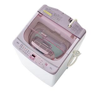 (標準設置料込)AQW-TW1000F-W アクア 10.0kg 洗濯乾燥機 ホワイト AQUA