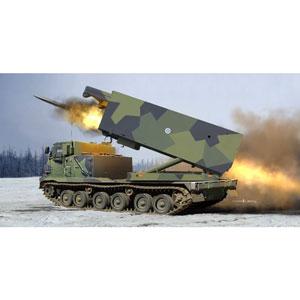 1/35 フィンランド/オランダ陸軍 MLRS 多連装ロケットシステム【01047】 トランペッター