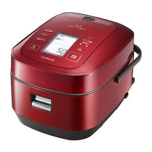 RZ-AW3000M-R 日立 圧力&スチームIHジャー炊飯器(5.5合炊き) メタリックレッド HITACHI 圧力スチーム炊き ふっくら御膳