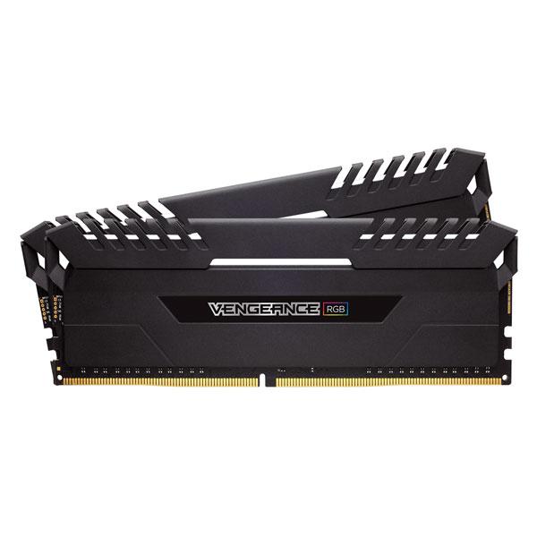 CMR16GX4M2C3466C16 コルセア PC4-27700 (DDR4-3466)288pin DDR4 DIMM 16GB(8GB×2枚) CORSAIR Vengeance RGB Series