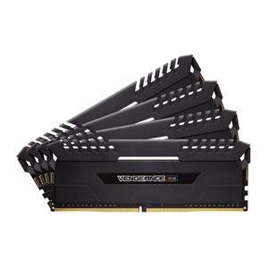 CMR64GX4M4C3333C16 コルセア PC4-26600 (DDR4-3333)288pin DDR4 DIMM 64GB(16GB×4枚) CORSAIR Vengeance RGB Series