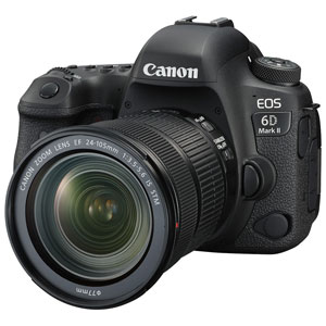 EOS6DMK224105ISSTMLK キヤノン デジタル一眼レフカメラ「EOS 6D Mark II」24-105 IS STM レンズキット
