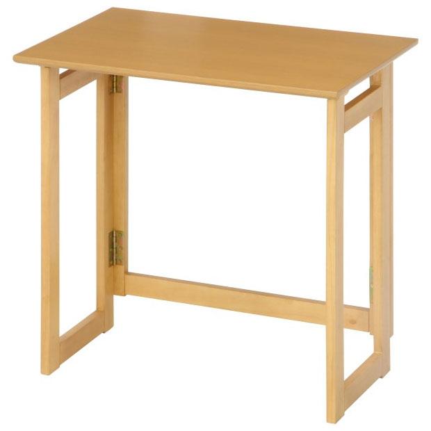 人気海外一番 10880フォールディングテーブル 不二貿易 フォールディングテーブル 現品 ナチュラル ミラン 10880フルデングテブル