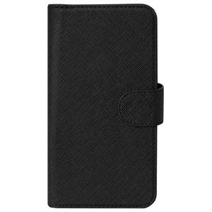OWL-CVMUM08-BK オウルテック 卓抜 定番 スライド式 PUレザーマルチケース ブラック 手帳型